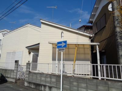 【外観】桜町貸家(平屋)