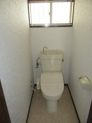 【トイレ】桜町貸家(平屋)