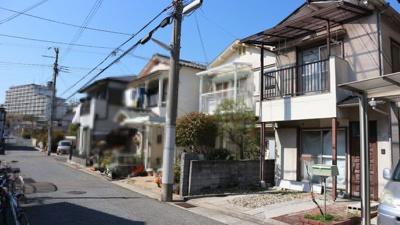 【前面道路含む現地写真】神戸市垂水区西舞子4丁目 中古戸建