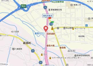 【地図】メゾン森松