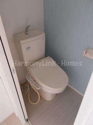 ハーモニーテラス神谷Ⅱのコンパクトで使いやすいトイレです☆