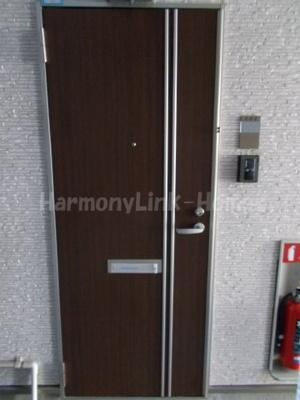 ハーモニーテラス神谷Ⅱの表玄関