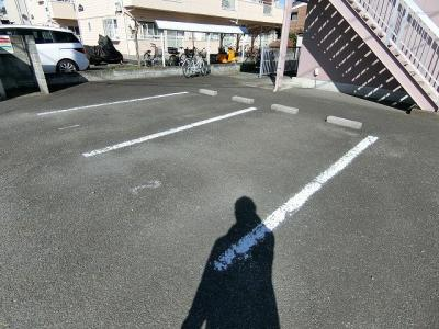 【駐車場】ビューハイム昭島Ⅱ
