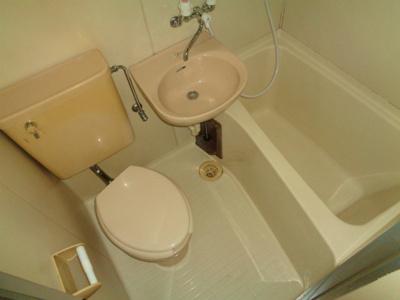 【浴室】コーポ野原
