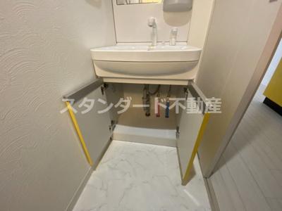 【独立洗面台】ビガーポリス369天神橋三丁目Ⅱアルチェ