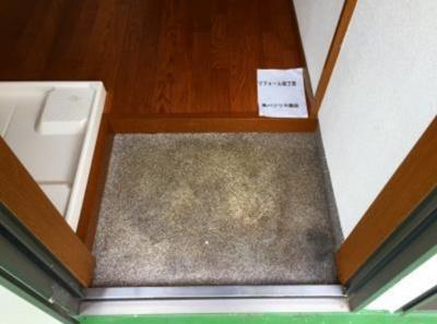 コーポ落合のシンプルで使いやすい玄関です(玄関・別部屋参考写真)☆