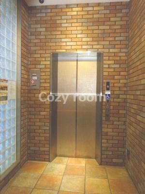 エレベーターホールです