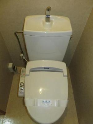【トイレ】下関マンション 508号