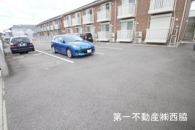 【駐車場】ベルクール喜田