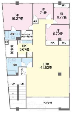 2F:2F外人住宅 間取り図