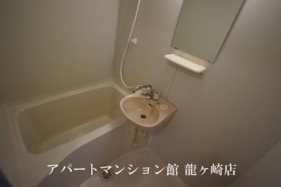 洗面台付きのお風呂♪