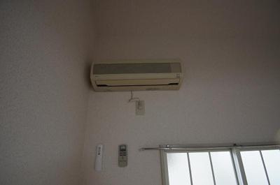 もちろんエアコン完備