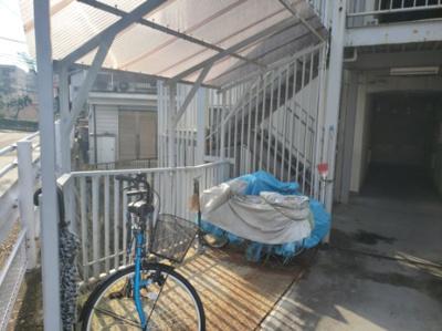 駐輪場☆神戸市垂水区 舞子台ハイム☆