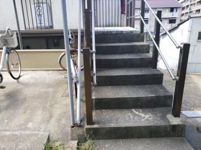 階段☆神戸市垂水区 コスモハイツ 賃貸☆
