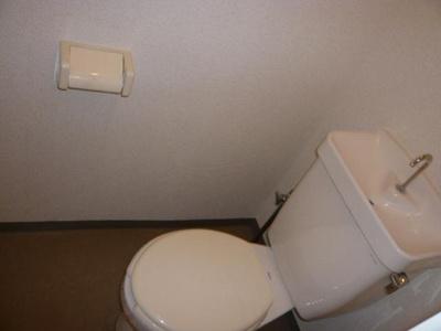 【トイレ】シティハイツ絹の台