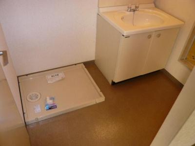 【洗面所】シティハイツ絹の台