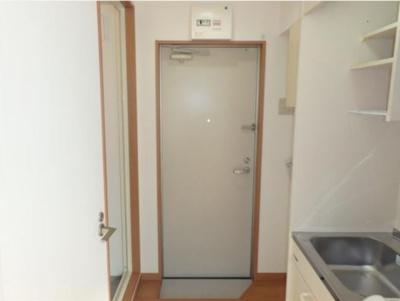 フェリスアメリアの毎日通る玄関はこちらです
