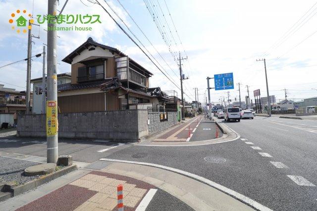 【前面道路含む現地写真】久喜市上町 中古一戸建て