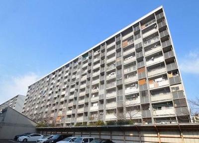 【外観】八戸ノ里グランド・マンション