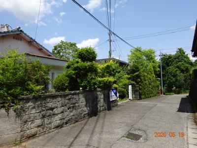 【前面道路含む現地写真】大村市陰平町 中古戸建住宅 5DK