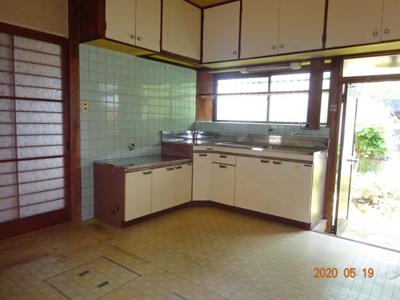【キッチン】大村市陰平町 中古戸建住宅 5DK