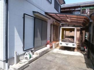 【駐車場】近江八幡市西本郷町 中古戸建