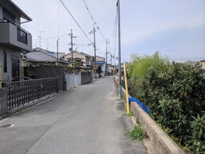 【前面道路含む現地写真】京都市伏見区桃山町弾正島
