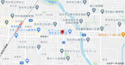 【地図】まいんハイツ