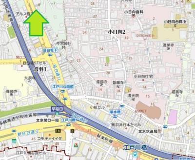 【地図】タカデン音羽
