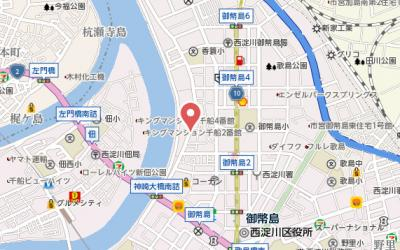 【地図】ミスターマンション