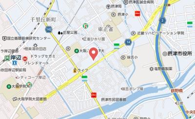 【地図】ハイツエポック