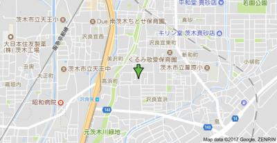 【地図】メゾン・ファミール