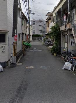 【現地写真】前面道路です♪