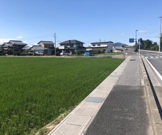 【外観】野洲市小南 売土地