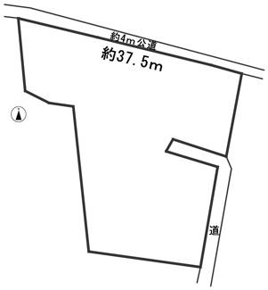 【区画図】53938 本巣市七五三土地