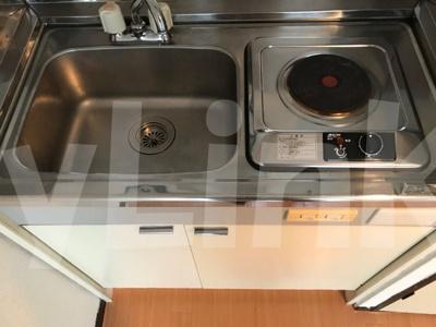 ライフピアビリーブのコンパクトなキッチンで掃除もラクラク★