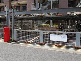 ダイアパレス千城台Ⅱ マンション 千城台駅 324号室 上下で2台停められる駐車場です。