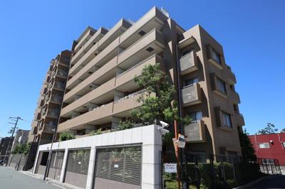 【現地写真】  鉄骨鉄筋コンクリート造・9階建マンション