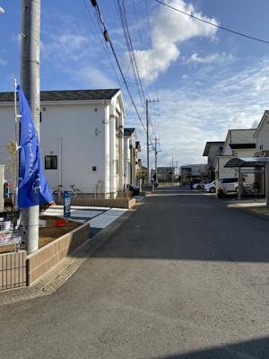 【前面道路含む現地写真】新築1戸建 ケイアイ カーザスタイル 富士見ケ丘1期