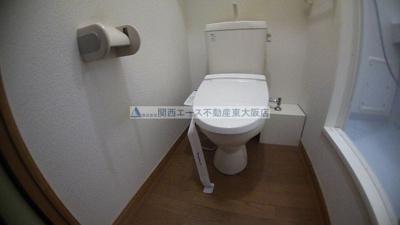 【トイレ】レオパレスフローリッシュ