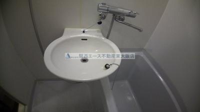 【洗面所】レオパレスフローリッシュ