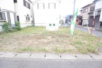 稲毛区山王町 土地 四街道駅 人気の南西角地です!陽当たり良好です!