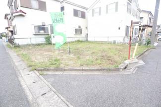 稲毛区山王町 土地 四街道駅 綺麗な整形地のため、外構費用が抑えられます!