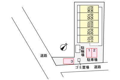 【区画図】ナイツシャトー