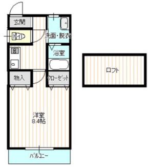 【間取り】《2002年築!》熊谷市2棟売りアパート