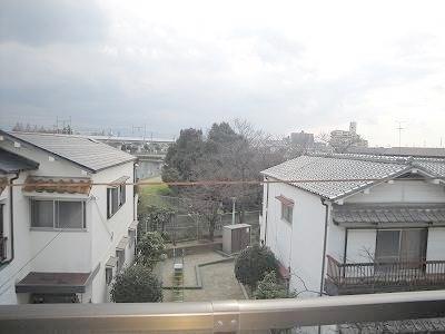 バルコニーからの眺め^^