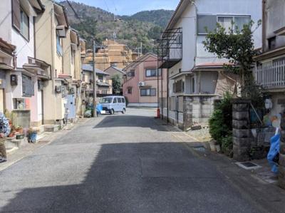 【前面道路含む現地写真】京都市山科区大宅御所田町