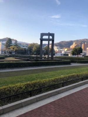 呉中央レックスマンション 近くには公園がありお子様の遊び場やお散歩にも最適です