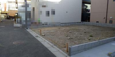 【前面道路含む現地写真】神戸市垂水区城が山1丁目 B号地 新築戸建