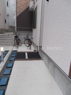 MiLaVita高田馬場の駐輪スペース